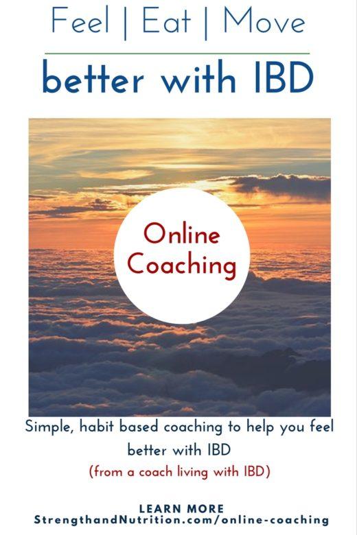 Online Coaching for IBD