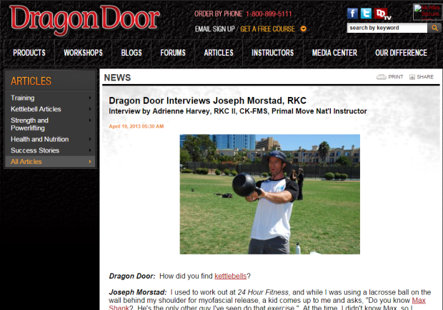 dragondoorinterview